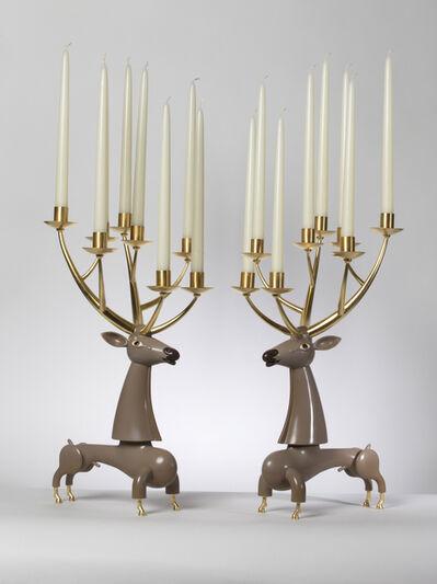 Jean-Marie Fiori, 'Deer Candelabra', 2014