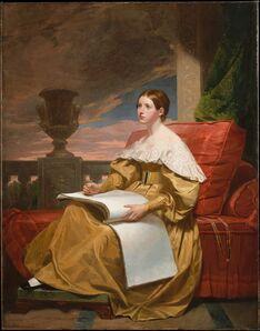 Samuel F. B. Morse, 'Susan Walker Morse (The Muse)', ca. 1836–1837