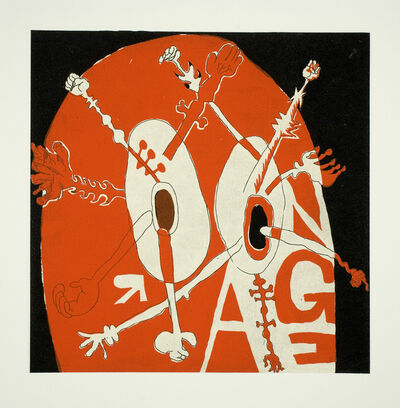 Trenton Doyle Hancock, 'Fix (portfolio)', 2008