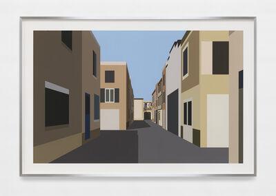 Julian Opie, 'French Village 5.', 2021