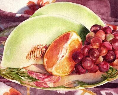 "Kathrine Lemke Waste, '""Fruit Plate""'"
