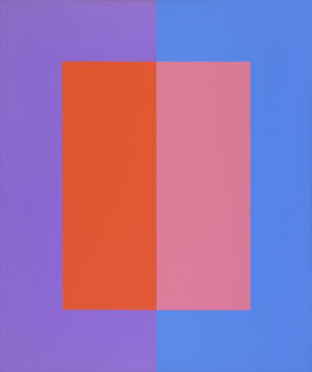Karl Benjamin, '#9', 1975