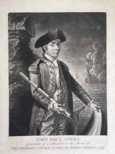 Richard Brookshaw, 'JOHN PAUL JONES', 1779