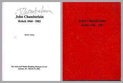 John Chamberlain, 'Reliefs 1960-1982, Exhibition Catalogue Ringling (Hand Signed)', 1983