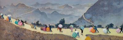 Zhou Jinhua 周金华, 'Long Road 路漫漫 ', 2017