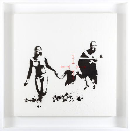 Banksy, 'Family Target', 2003