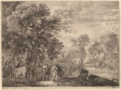 Herman van Swanevelt, 'Mercury Silencing Battus'