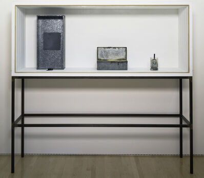 Joseph Beuys, 'Untitled (Vitrine with Four Objects/Plateau Central)', 1962-1983