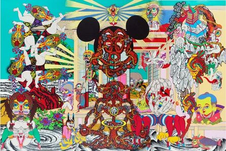 Keiichi Tanaami, 'Mysterious Deliverance', 2010