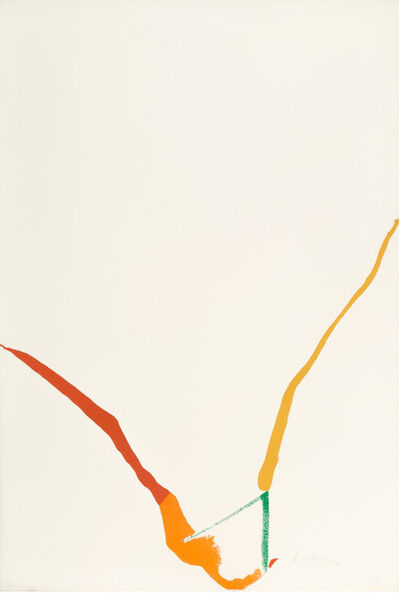 Helen Frankenthaler, 'What Red Lines Can Do (Harrison 23) ', 1970