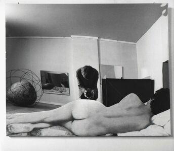 Ugo Mulas, 'Room of Michelangelo Pistoletto, Vitalità del negativo nell'arte italiana 1960-1970 Palazzo delle Esposizioni, Rome, 1970'