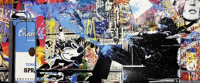 Mr. Brainwash, ''Max Spray (collage)' ', 2010