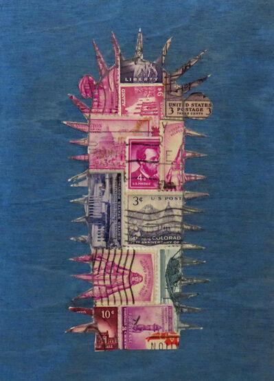 Frederick Fulmer, 'Stamp Cactus Purple', 2017