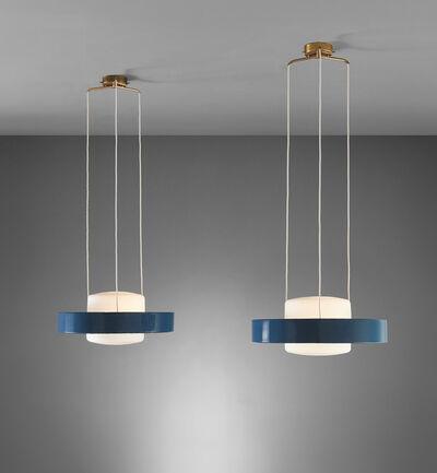 Stilnovo, 'Pair of ceiling lights, model no. 1158', circa 1955
