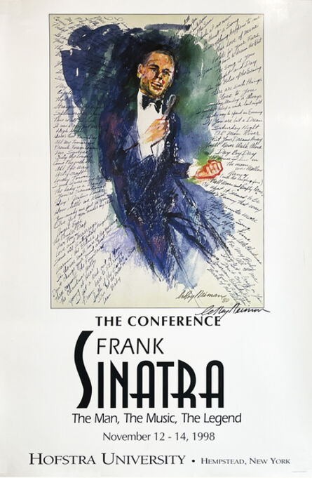 LeRoy Neiman, ''Frank Sinatra: The Conference'', 1980
