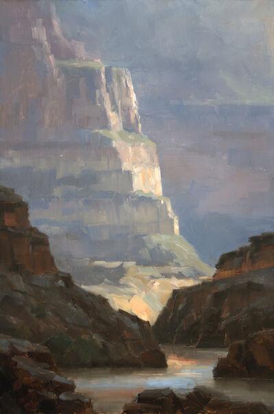 Dave Santillanes, 'Evening at Garnet Canyon, Study', 2015