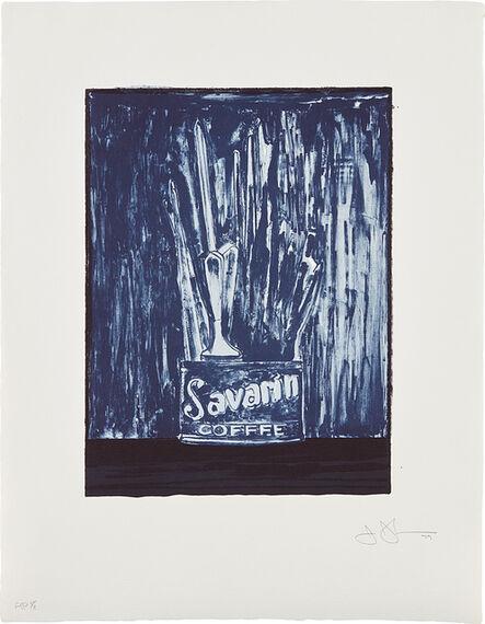 Jasper Johns, 'Savarin 6 (Blue)', 1979