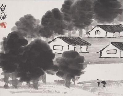 Qi Baishi, 'Rural Village', ca. 1930