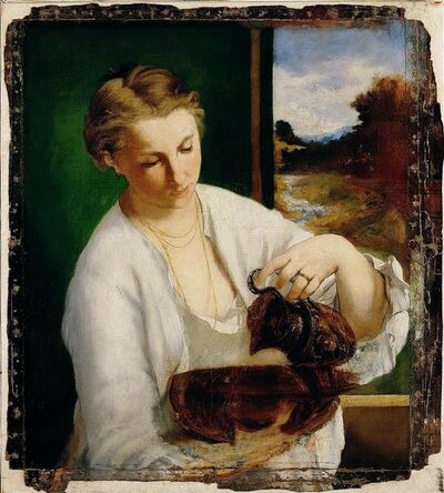 Édouard Manet, 'Woman with a Jug (Suzanne Leenhoff, Later Manet)', 1858