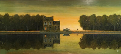 Philippe Charles Jacquet, 'Lumiere du soir'