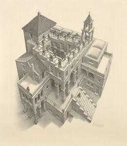 Maurits Cornelis Escher, 'Ascending and Descending', 1960
