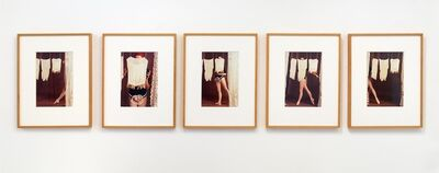 Rose English, 'Study for A Divertissement: Diana and Porcelain Lace Veil', 1973 (printed 2013)