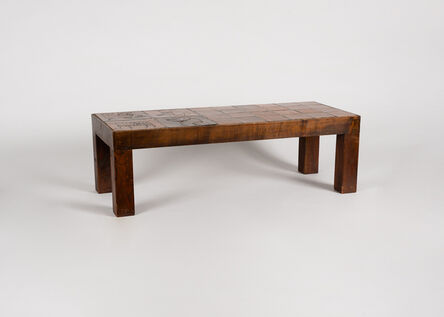 Jacques Blin, 'Rectangular Tiled Coffee Table', ca. 1970