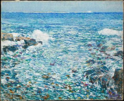 Childe Hassam, 'Surf, Isles of Shoals', 1913