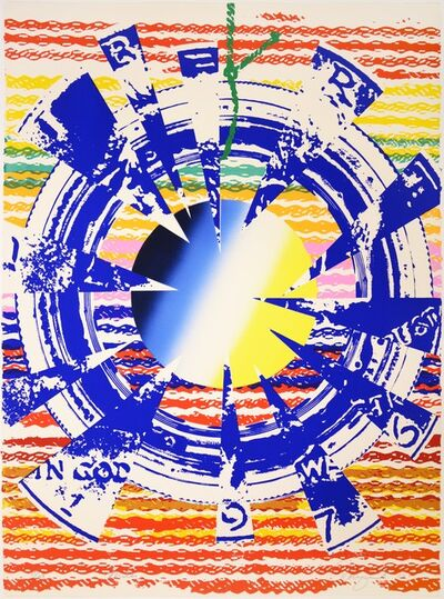 James Rosenquist, 'James Rosenquist, Miles from America: The Third Century, lithograph, signed, 1975', 1975