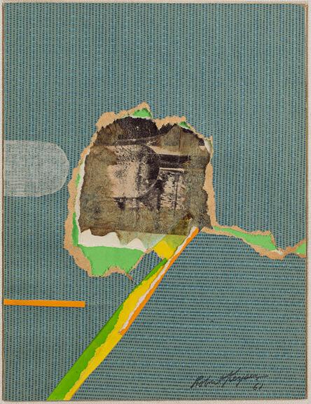 Robert Keyser, 'Creek Road Farewell', 1961