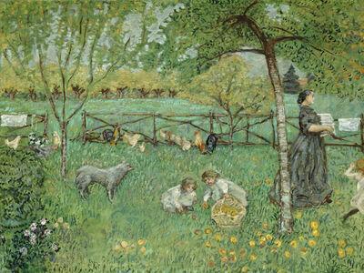 Pierre Bonnard, 'The Large Garden', 1895