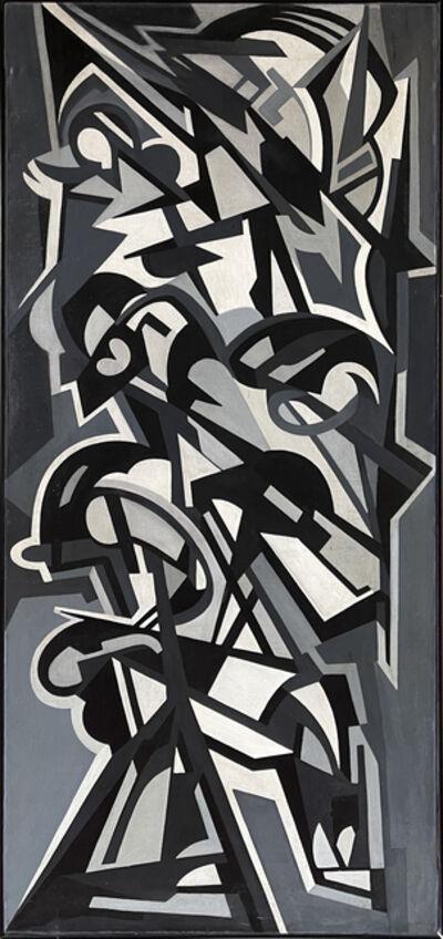 Emilio Vedova, 'Immagine del tempo', 1950