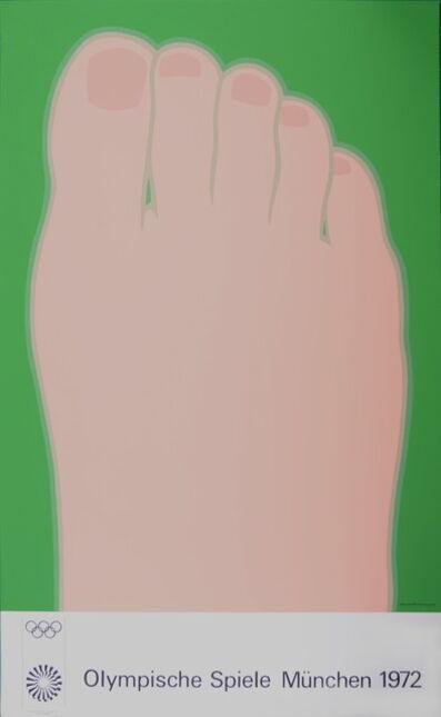 Tom Wesselmann, 'Olympische Spiele 1972 (the Foot)', 1972