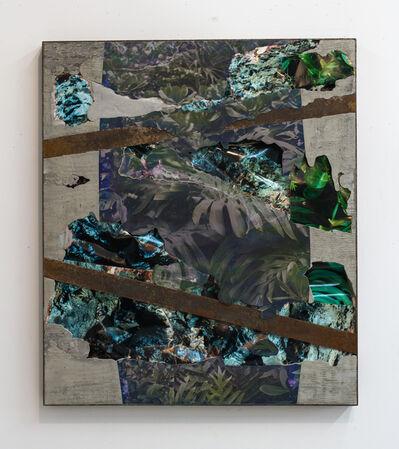 Letha Wilson, 'Steel Face Concrete Bend (Hawaii Palms Lava)', 2016