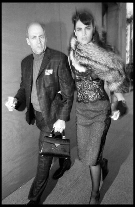 Bruce Gilden, 'Ted LANDERS and Daniela URZI. New York City. USA.', 2004