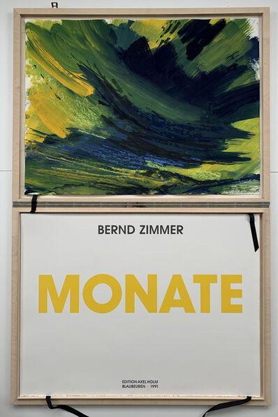 Bernd Zimmer, 'MONATE', 1990/91