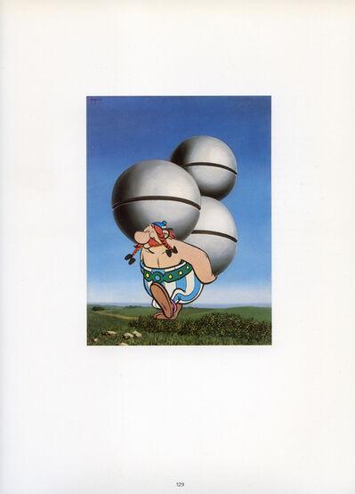 Hank Schmidt in der Beek, 'Collage Nr. 626 (Magritte/Obelix)', 2015