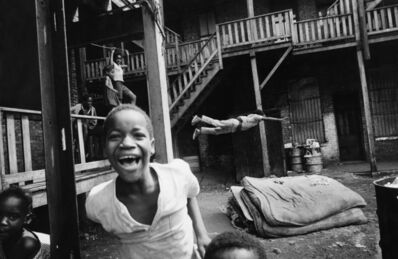 Art Shay, 'Bakyard Olympics, Chicago', 1958