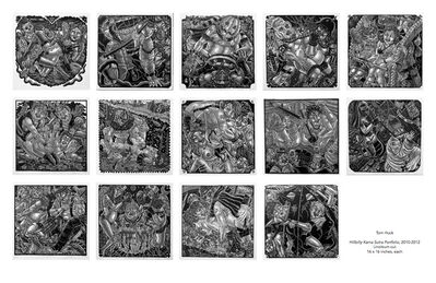 Tom Huck, 'Hillbilly Kama Sutra Portfolio', 2010-2012