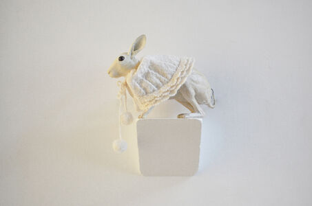 Akihiro Higuchi, 'Stuffed Animal - Snow Rabbit', 2008
