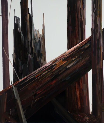 Claire Sherman, 'Diagonal Tree'