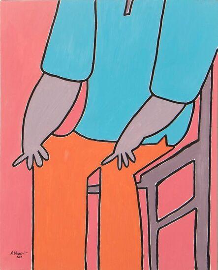 Mohammed Ahmed Ibrahim, 'Sitting Man', 2013