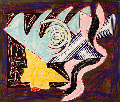 Frank Stella, 'A Hungry Cat Ate Up the Goat', 1984