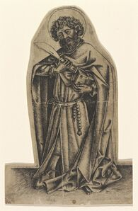 Master of Saint John the Baptist, 'Saint Bartholomew', 1440s