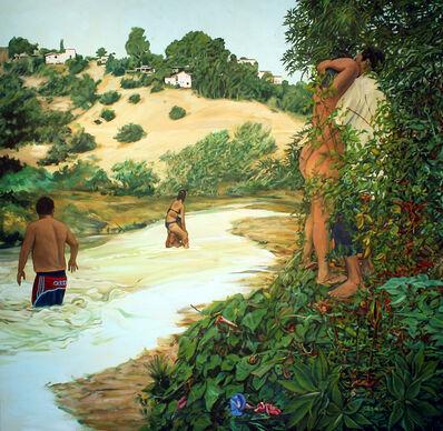 John Valadez, 'Lover's Creek', 2011