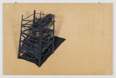 Tadashi Kawamata, 'COAL MINE TAGAWA plan6', 1996