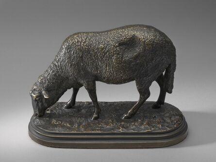 Rosa Bonheur, 'Ewe, or A Grazing Sheep', model second half 19th century