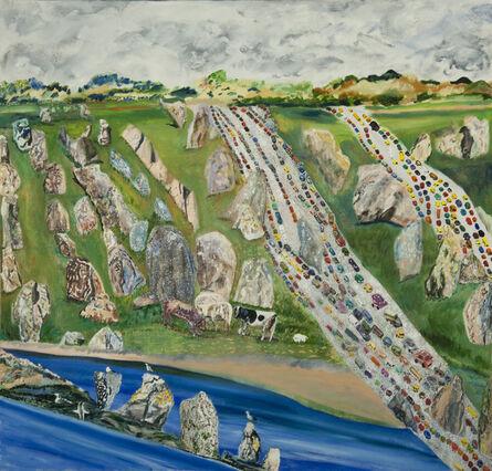 Olive Ayhens, 'Carnac', 2011