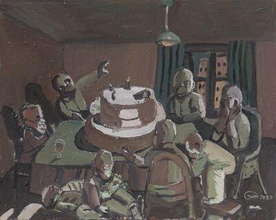 Tang Zhigang 唐志剛, 'Political Cake no.2', 2020