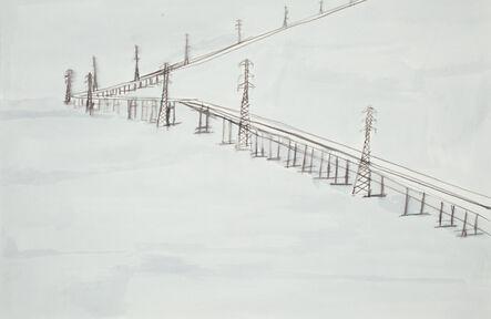 Lance Rivers, 'San Mateo Bridge Landscape', 2010